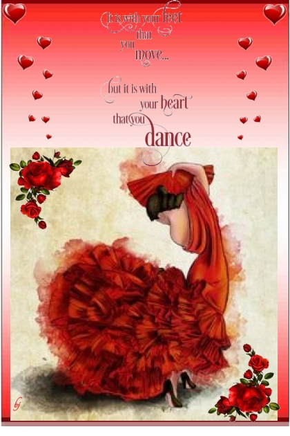 With Your Heart You Dance