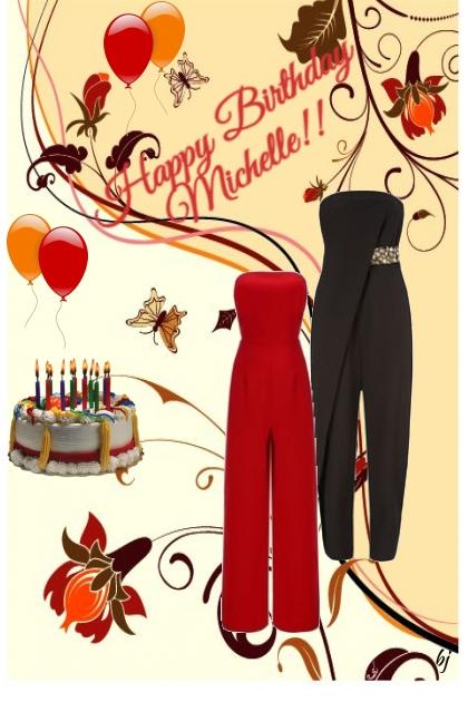 Happy Birthday Michelle!!