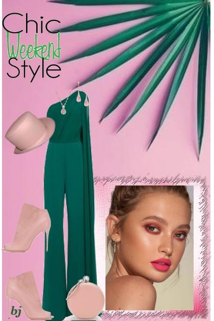 Chic Weekend Style II- Fashion set