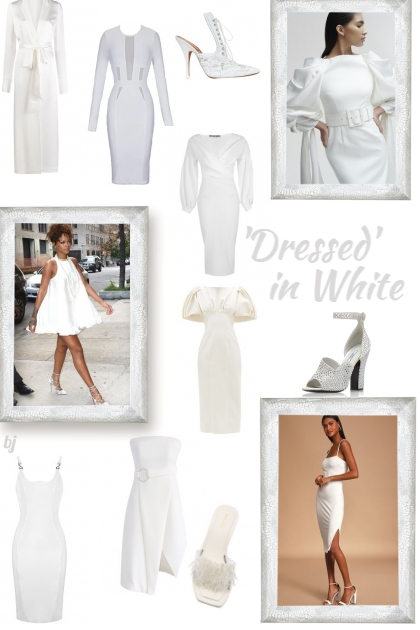 'Dressed' in White