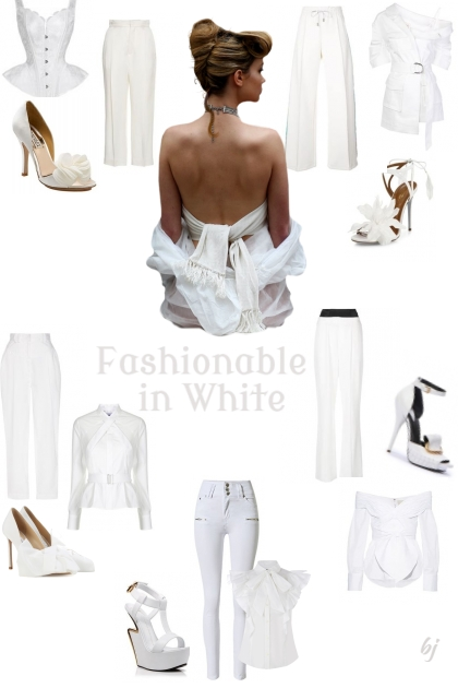 Fashionable in White