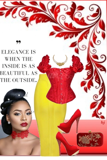 Elegance--Beauty Inside and Out