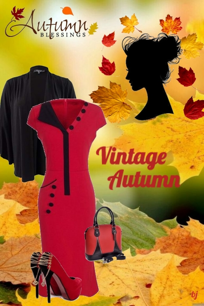 Vintage Autumn Blessings