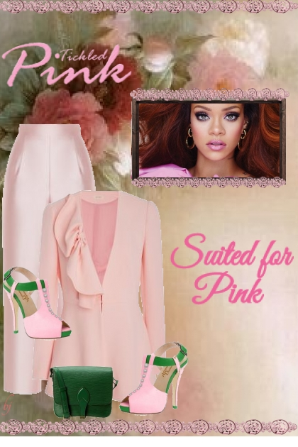 Suited for Pink