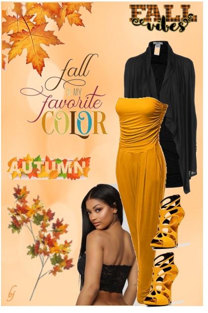 Fall.......My Favorite Color- Fashion set