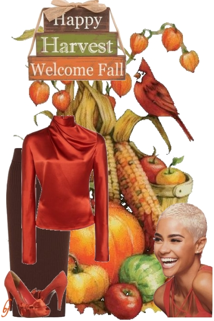 Happy Harvest-Welcome Fall