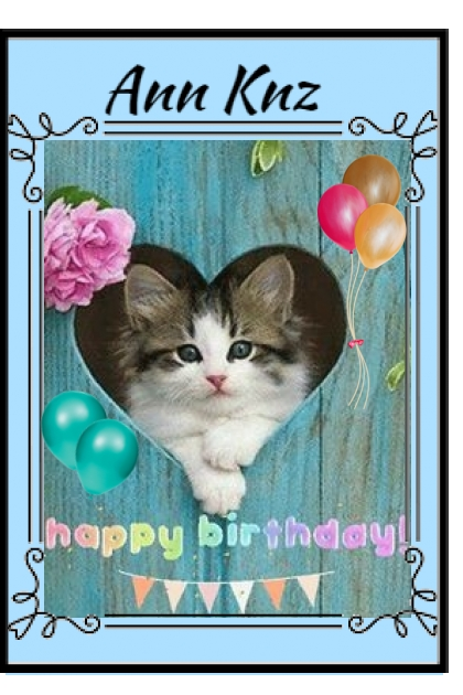 Happy Birthday Ann Knz