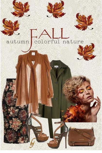Fall...Autumn Colorful Nature