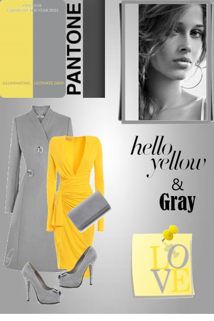 Hello Yellow and Gray