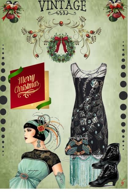 Vintage Christmas Time