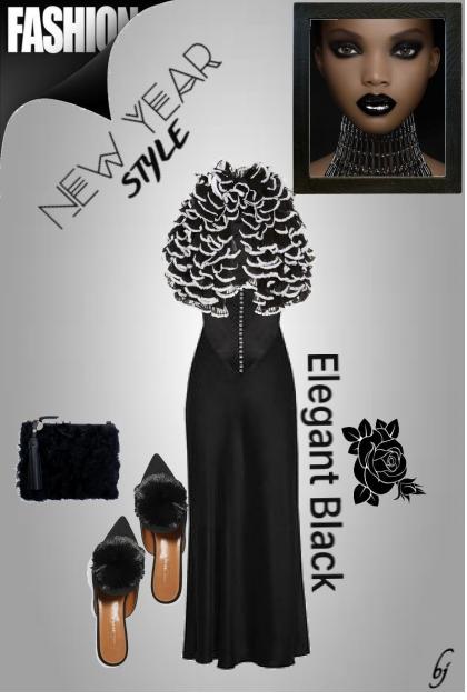 New Year Style- combinação de moda