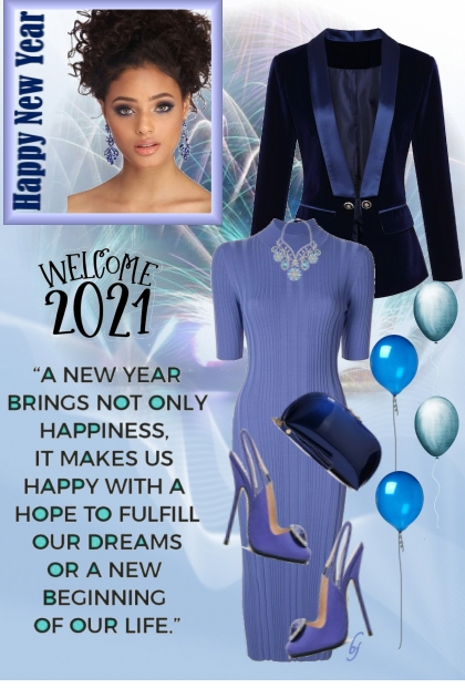 2021--A Blue New Year
