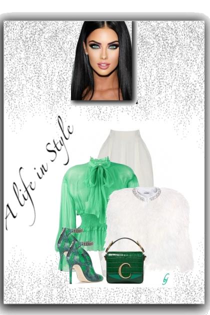 A Life in Style...- combinação de moda
