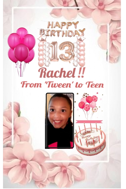 Happy Birthday Rachel!!