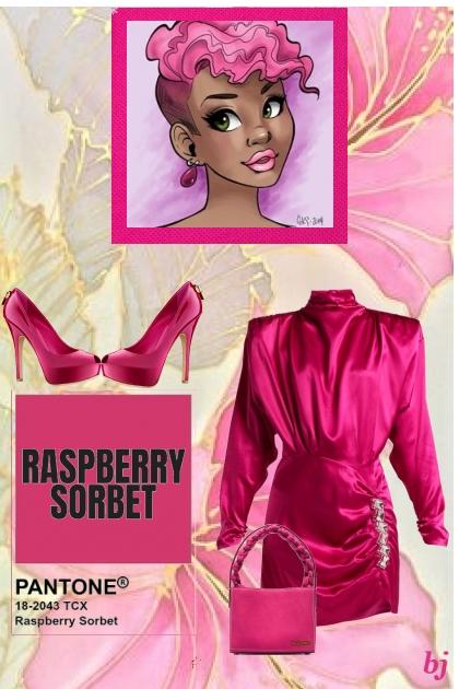 Raspberry Sorbet...