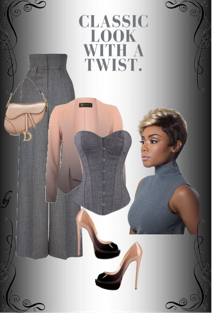 Classic Look With a Twist