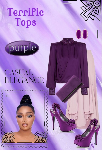 Terrific Tops--Purple