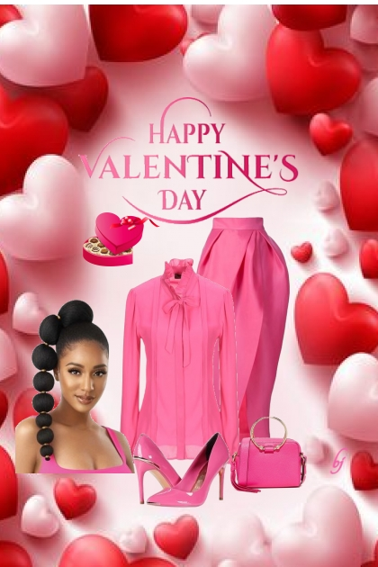 Pink and Red Valentine