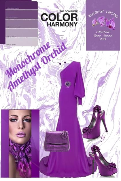 Pantone Color--Amethyst Orchid