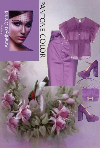 Amethyst Orchid--Pantone 2021...