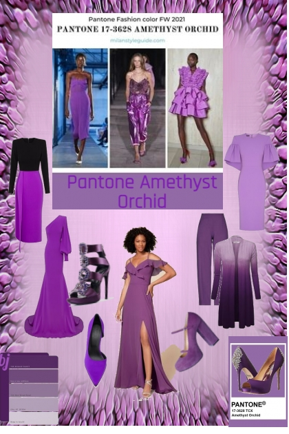 Pantone Amethyst Orchid