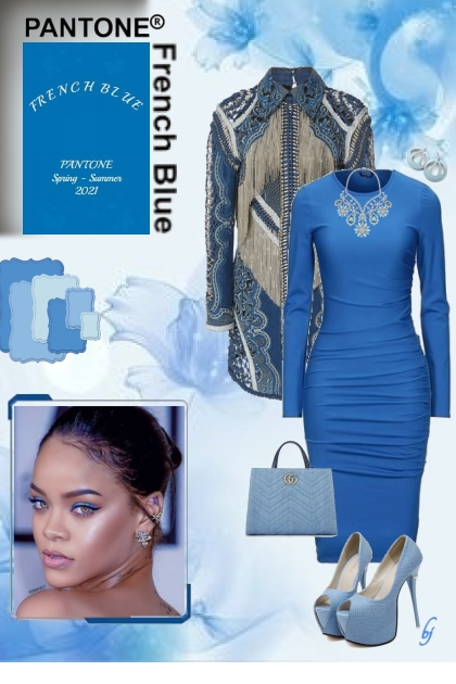 Pantone Color--French Blue