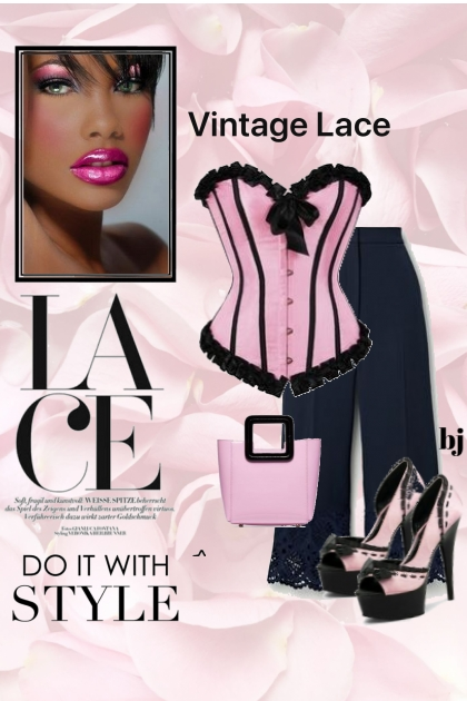 Lace--Do it With Style- Fashion set