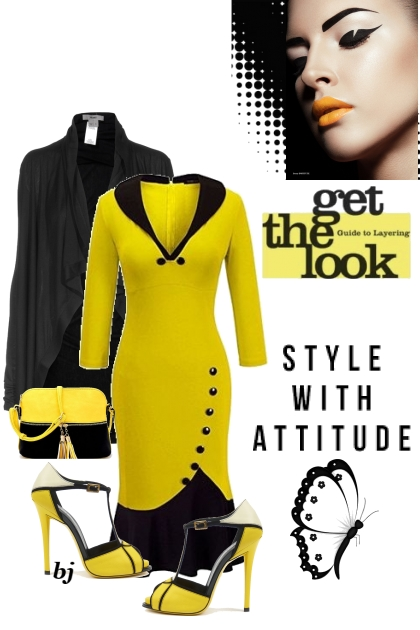 Style With Attitude in Yellow and Black