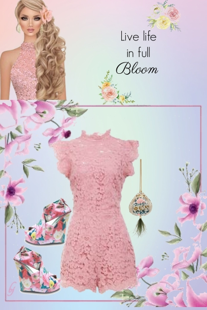 Live Life in Full Bloom.......