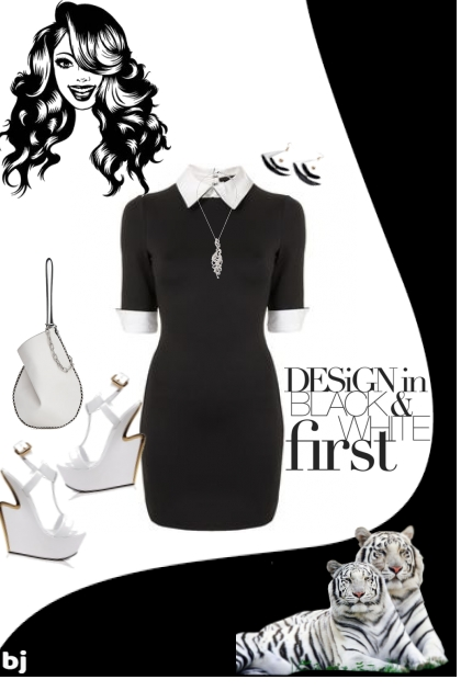 Design in Black and White First....