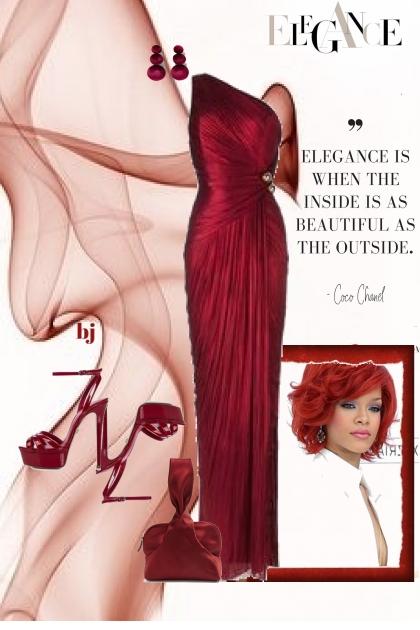 Elegance---Beauty Inside and Outside