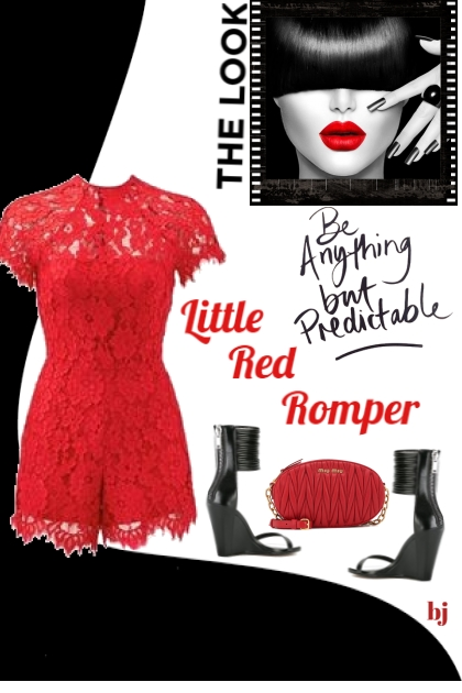 Little Red Romper
