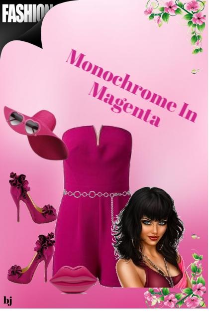 Monochrome in Magenta