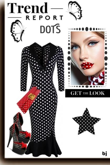 Trend Report--Dots- Combinazione di moda