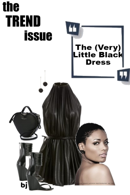 The (Very) Little Black Dress