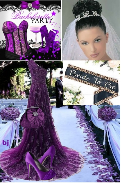Purple Passion Summer Wedding