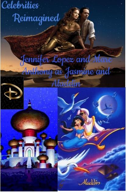 Celebrities as Disney Characters 2