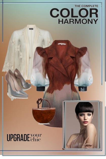 The Complete Color Hramony- Combinazione di moda