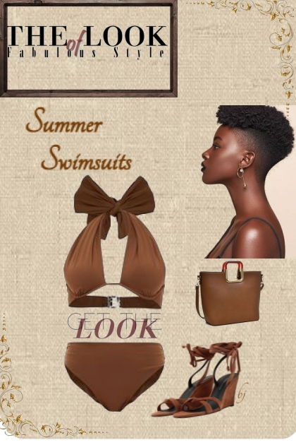 The Look of Fabulous Style--Summer Swimsuits