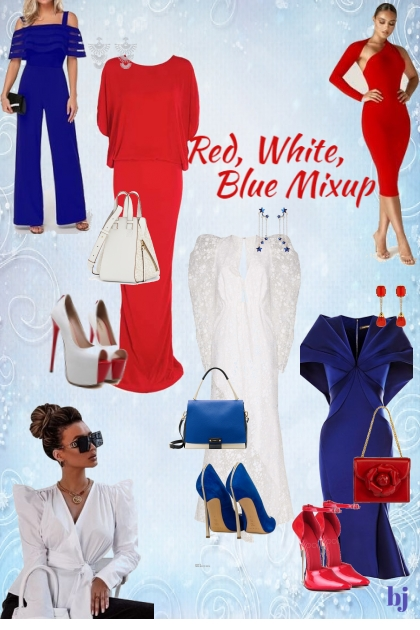 Red, White, Blue Mixup