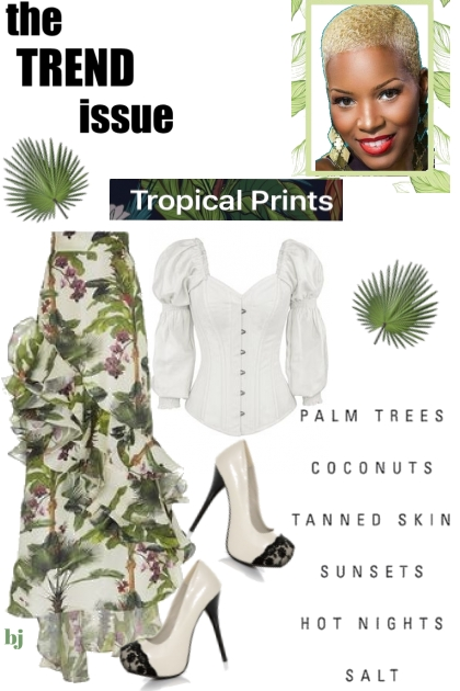 The Trend Issue--Tropical Prints