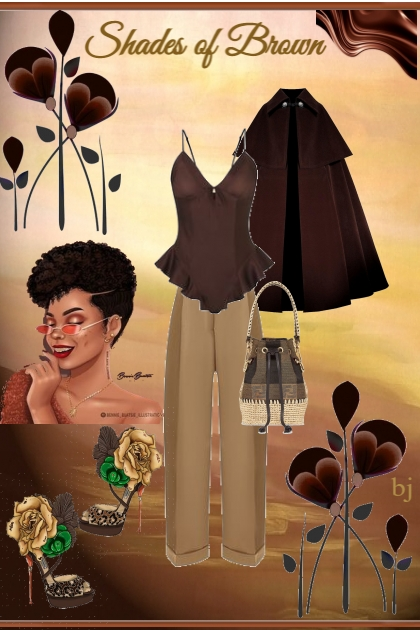 Shades of Brown.......