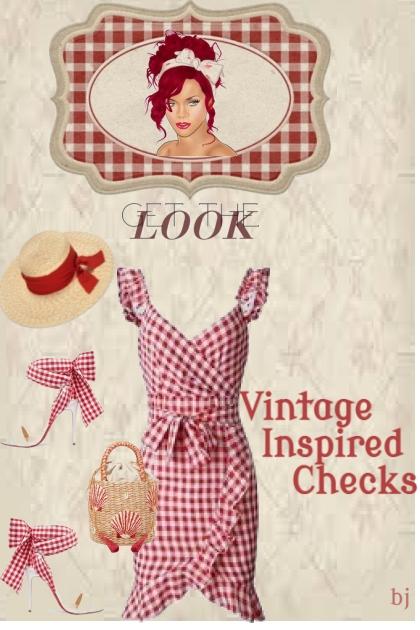 Vintage Inspired Checks