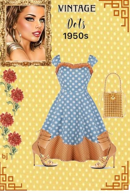 Vintage Dots 1950s