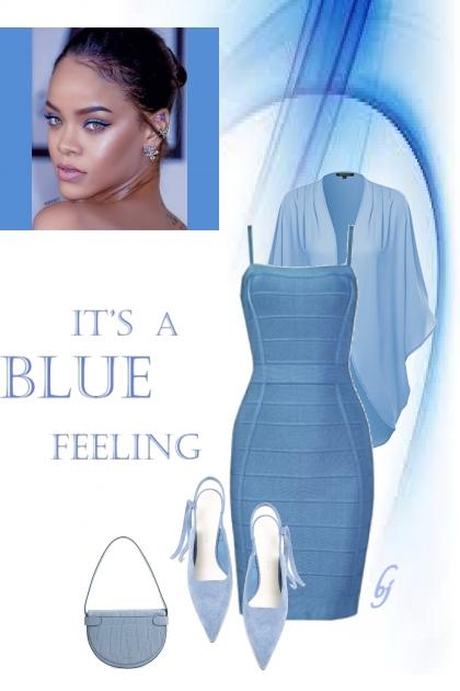 Blue Monochrome Feeling