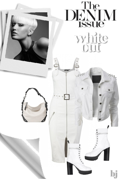 The Denim Issue--White Out