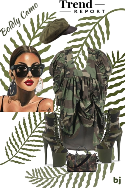 The Trend Report--Boldly Camo