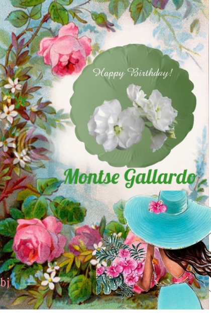Happy Birthday Montse Gallardo!