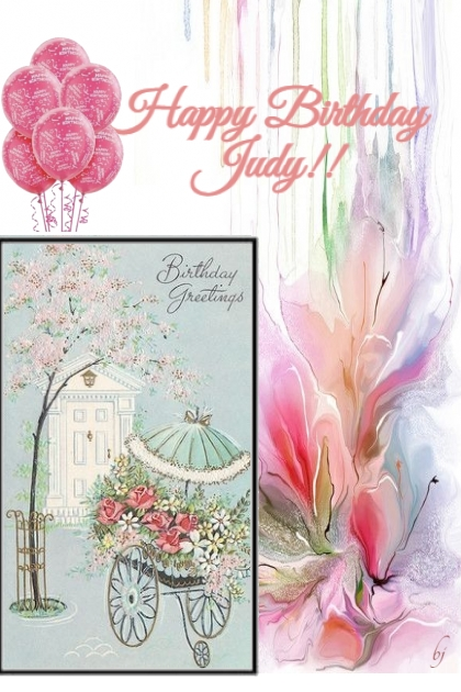 Happy Birthday Judy!!