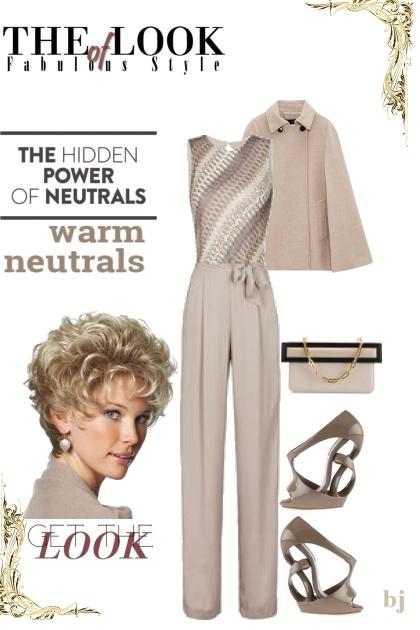 Warm Neutrals--Get the Look